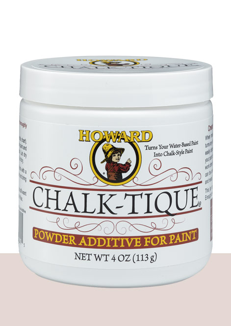 chalk tique powder additive for paint howard products